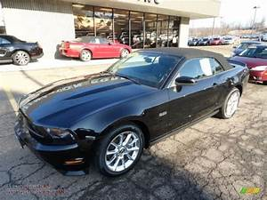 2011 Ford Mustang GT Premium Convertible in Ebony Black photo #7 - 100807 | All American ...