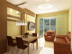 beautiful 3d interior designs kerala home design and With interior designs for small homes