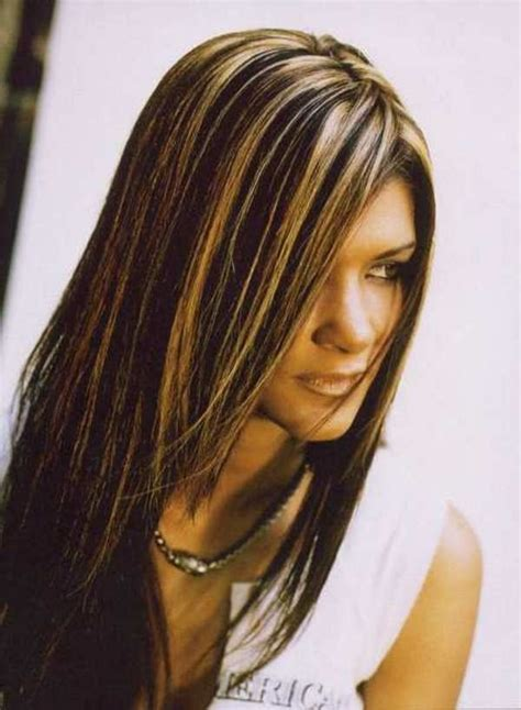 dark brown hair with light brown tips low lights on dark hair my style pinterest low