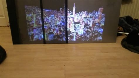 experiment  diy alr projection screen paint youtube