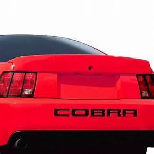 Duraflex® 112718 - Ford Mustang 2000 Cobra Style Fiberglass Rear Lip Spoiler