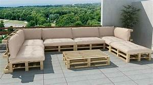 Sitzecke Aus Paletten : sofa aus paletten ein praktisches m bel f r drinnen und drau en ~ Frokenaadalensverden.com Haus und Dekorationen