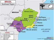 Southeast Region of Brazil