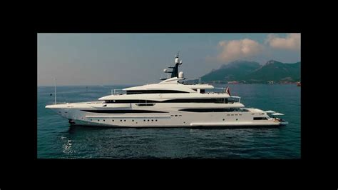 Luxury Superyacht  Crn 74m My Cloud 9 Youtube