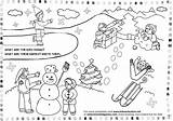 Winter Coloring Printable Pages Adults Worksheets Theme Activities Season Preschool Kindergarten Kid Worksheet Sheets Printables Crafts Toddler January Games Glamorous sketch template