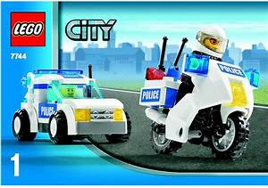 LEGO Police Headquarters Instructions 7744, City Police Rescue