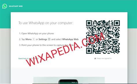 masuk whatsapp web  scan barcode terbaru