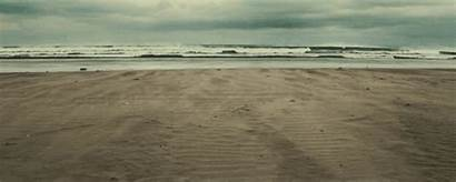 Ocean Beach Animated Wind Waves Sand Spring