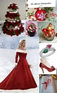 Christmas theme weddings on Pinterest