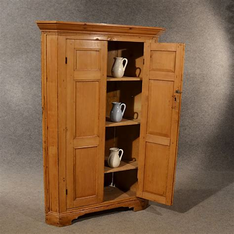 Antique Cupboard by Antique Pine Corner Cabinet Cupboard Larder Original