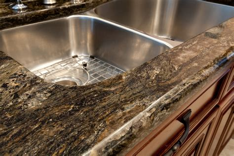 granite edge half bullnose edge kitchen countertops