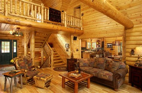 vacation home plans really log house