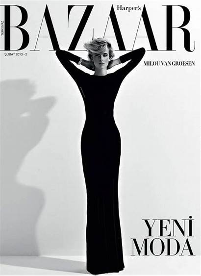 Bazaar Magazine Covers Harper March Harpers Smile