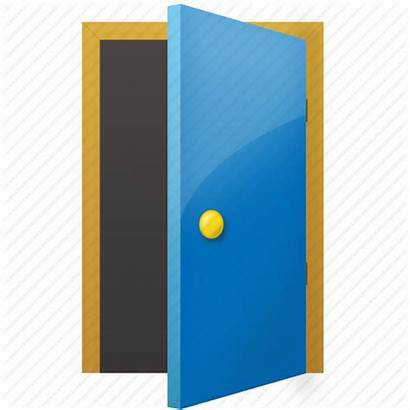 Door Icon Close Open Exit Clipart Folder