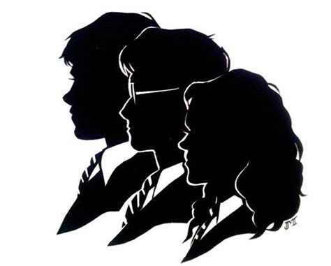 hogwarts silhouette clipart google search harry potter