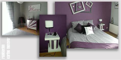 couleur violet pour chambre deco chambre adulte gris et blanc kirafes