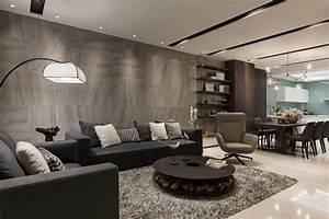 Deco Salon Contemporain : salon contemporain d co par les maisons d architecte du monde entier salon deco ~ Melissatoandfro.com Idées de Décoration