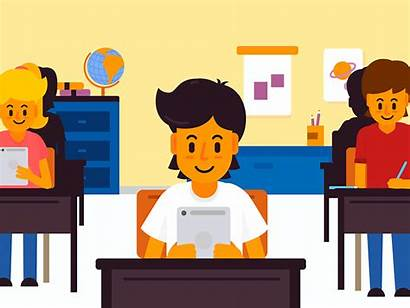 Education Animation Animated Classroom Educational Dribbble Educativa