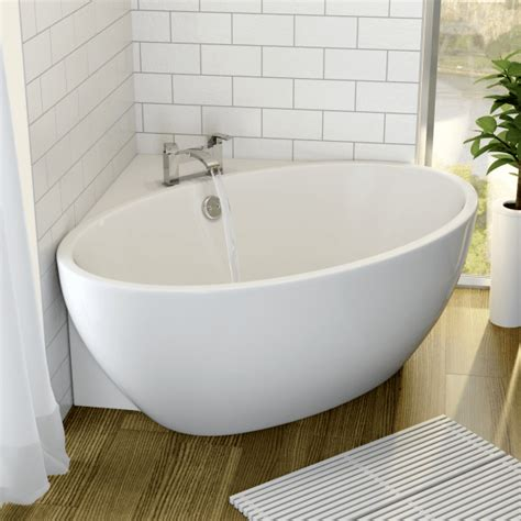 affine fontaine corner freestanding bath mm  mm
