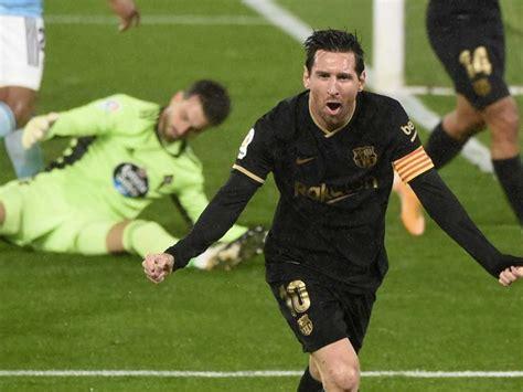 La Liga: Lionel Messi, Ansu Fati Inspire 10-Man Barcelona ...