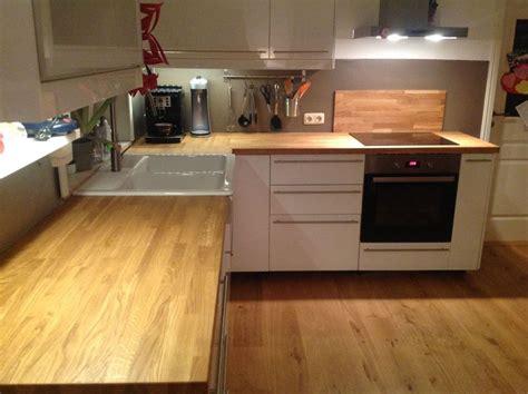 Arbeitsplatte Eiche Ikea massivholzplatte k 252 chenarbeitsplatte eiche auch f 252 r ikea