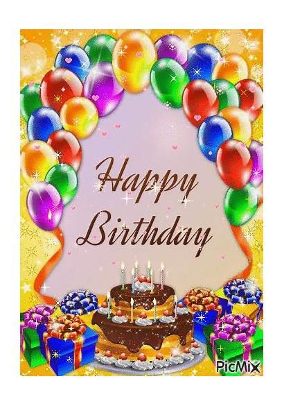 Birthday Happy Colorful Balloon Animation Lovethispic