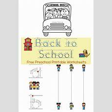 Free Prek Back To School Printable Pack  Free Homeschool Deals