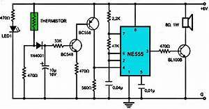 Fire Alarm Using Ne555