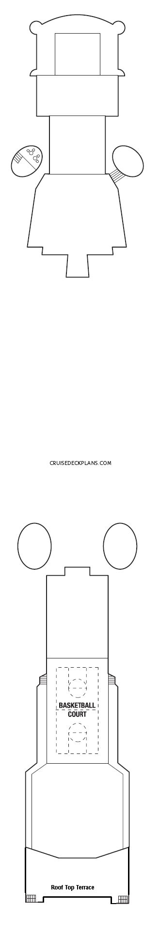 Constellation Deck Plan 2017 by Constellation Concierge Class Category