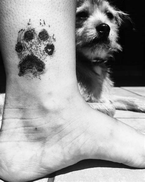 25 Dog Paw Tattoo Ideas to Showcase the Special Bond with