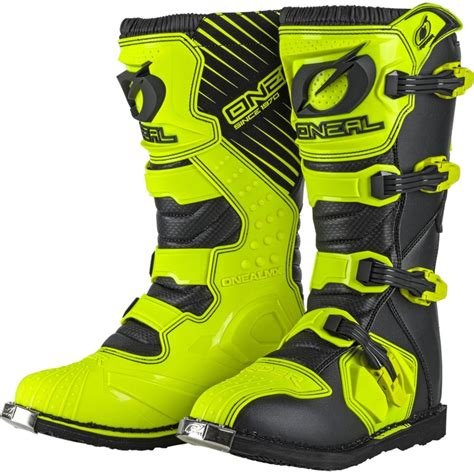 cheap kids motocross boots oneal new 2018 mx rider cheap dirt bike hi viz fluro