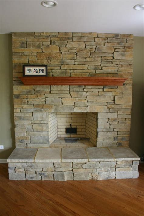 stone fireplace    mortar joints