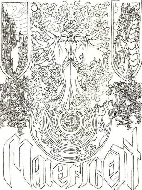 disney villains coloring pages getcoloringpagescom