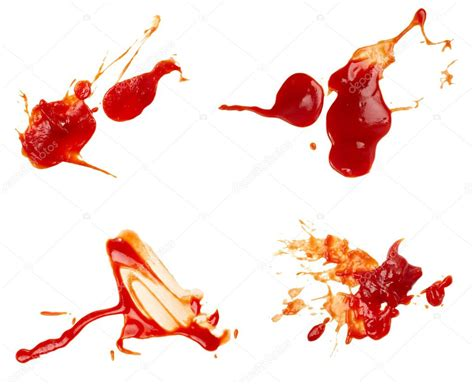 Ketchup stain dirty seasoning condiment food ⬇ Stock Photo ...