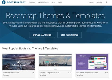 Bootstrap Theme Bootstrap Themes Get Responsive Bootstrap Templates