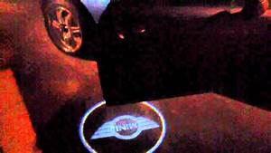 No Shadow Light Bulbs Mini Cooper Shadow Door Lights Youtube