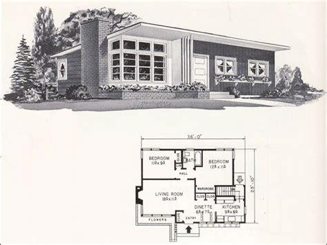 Home Architecture Small House Plans by Mid Century Modern Architecture Mid Century Modern Small