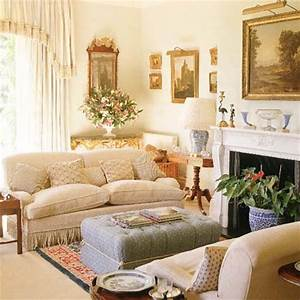Cool country french living room ideas | GreenVirals Style