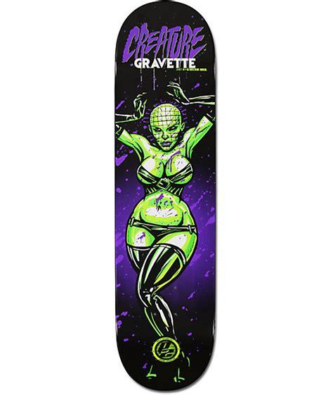 Creature P2 Skateboard Decks by Creature David Gravette Horror 8 0 Quot P2 Skate Deck At
