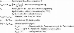 Bewehrung Beton Berechnen : theorie rissnachweis ~ Themetempest.com Abrechnung