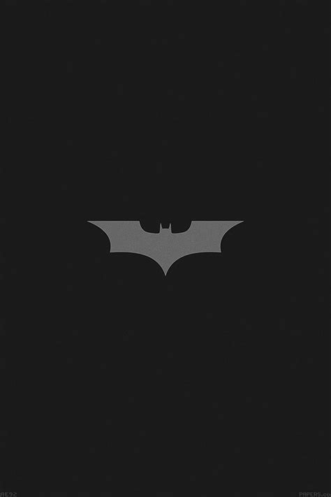 ae batman dark night logo simple minimal papersco