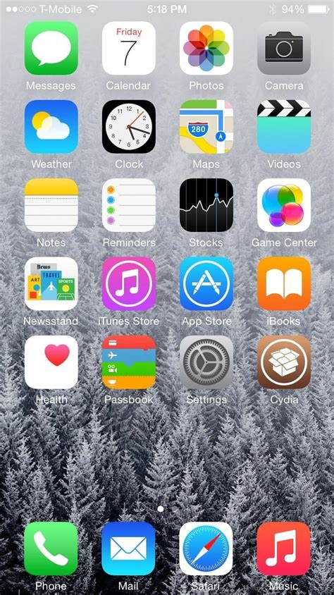 iphones dock transparent  ios  ios gadget