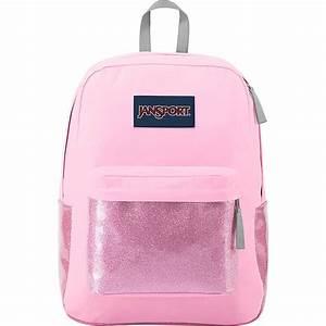 Jansport High Stakes Backpack- Prism Pink Sparkle