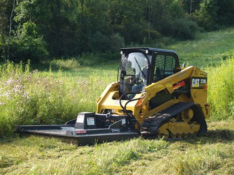 bradco  ground shark standard duty brush cutter skid steer attachment lano equipment