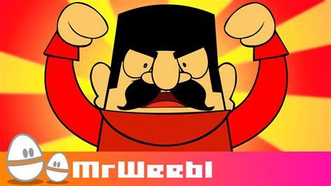 Russian Dancing Men Animated Music Video MrWeebl YouTube