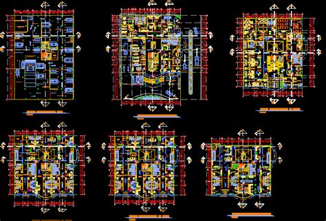 gynecology clinic  dwg plan  autocad designs cad