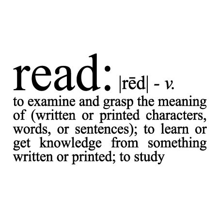 read definition wall quotes decal wallquotescom