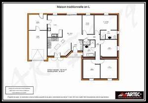 plan maison en 3d gratuit 8 plans de maisons With plan de maison en l gratuit