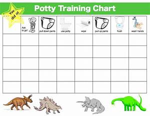 My  1 Potty Training Tip And 4 Free Potty Training Charts