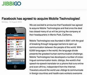 Facebook buys developer of Jibbigo speech-to-speech ...